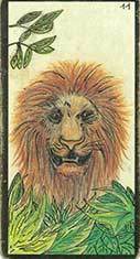 carte 11 Le Lion