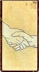 carte 29 La Poignée de Mains