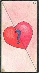 carte 36 Le Cœur Partagé