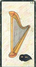 carte 43 La Harpe