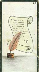 carte 61 Le Parchemin