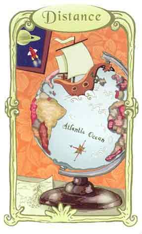 Carte distance