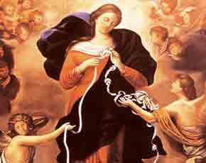 Rituel de Marie qui défait les nœuds