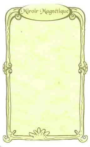 miroir magnétique