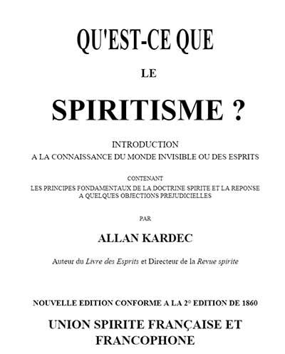 Qu'est ce que le spiritisme