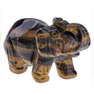 Éléphant Œil de Tigre