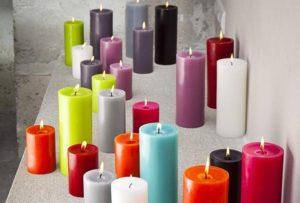 Les principales formes de bougies