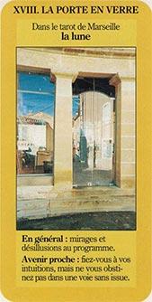 XVIII La porte en verre