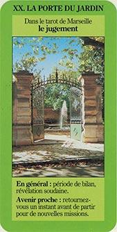 XX la porte de jardin