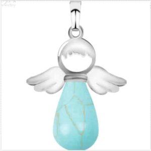 Pendentif ange Turquoise