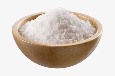 coupelle de sel