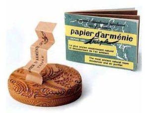 Le papier d'Arménie