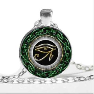 Cabochon œil Horus 2