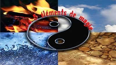 Les 5 éléments en magie