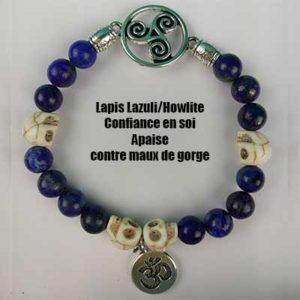 lapis Lazuli / Howlite